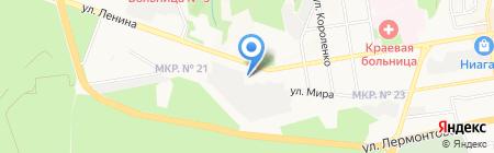 Элит-Строй на карте Ставрополя