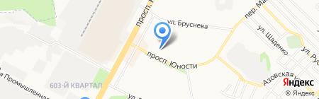 Рембыттехника на карте Ставрополя