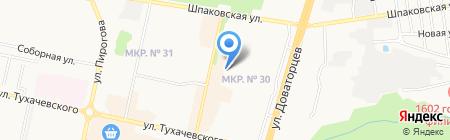 Сфинкс на карте Ставрополя