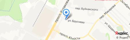 Колорит на карте Ставрополя