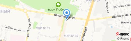 Стоматолог и Я на карте Ставрополя