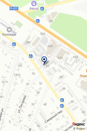 ТФ ВОЛГА на карте Невинномысска