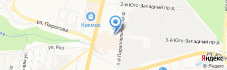 Магазин товаров для рыбалки и туризма на карте Ставрополя