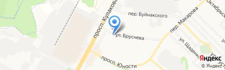 Имидж-студия 54 на карте Ставрополя