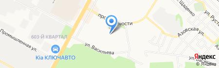 Детский сад №65 на карте Ставрополя