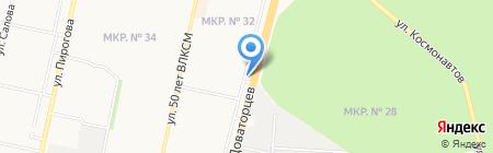 Pit Stop на карте Ставрополя