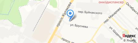 CARLA на карте Ставрополя
