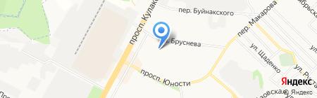 Студия красоты Натальи Шевченко на карте Ставрополя