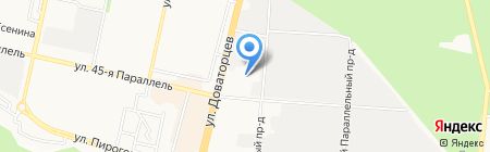Воскуримся на карте Ставрополя