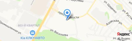 Мастерская по ремонту обуви на карте Ставрополя