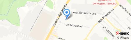 Салон-магазин на карте Ставрополя