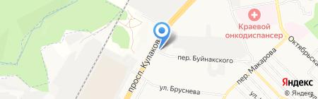 Север на карте Ставрополя