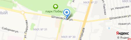 Манго на карте Ставрополя