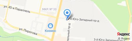 Ставропольская городская управляющая компания на карте Ставрополя
