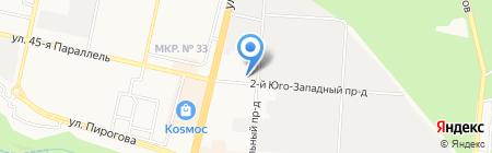 GT-Motors на карте Ставрополя