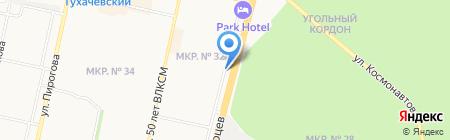 КМВ-СВЕТ на карте Ставрополя