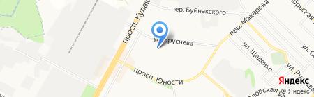Продуктовый магазин на карте Ставрополя