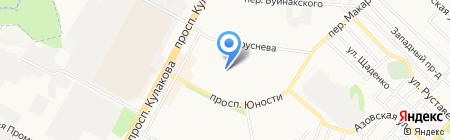 Детский сад №77 на карте Ставрополя