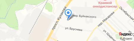 Цех мягкой мебели на карте Ставрополя