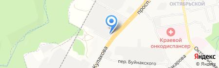 Кровельный центр на карте Ставрополя