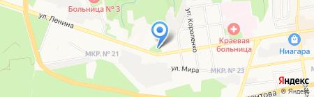 ЭКСПРЕСС-РОС на карте Ставрополя