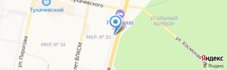 Мир электрика на карте Ставрополя