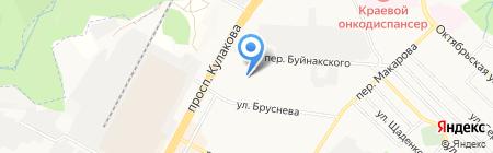 Авиньон на карте Ставрополя
