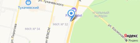 Дипломат на карте Ставрополя