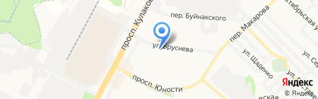 Краевой клинический специализированный уроандрологический центр на карте Ставрополя
