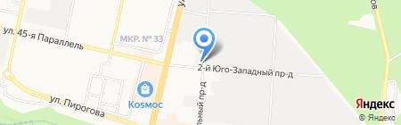 Инкомстрой на карте Ставрополя