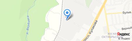 Автотрейдинг на карте Ставрополя