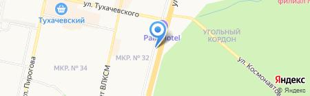 Хутор Ели-Пили на карте Ставрополя