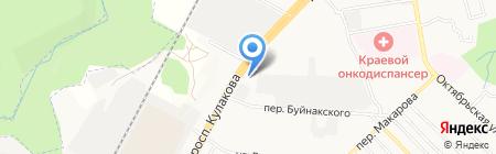 ТИС на карте Ставрополя