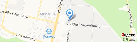 Планета окон на карте Ставрополя