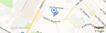 Феникс на карте Ставрополя