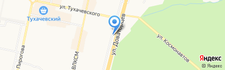 Барракуда на карте Ставрополя