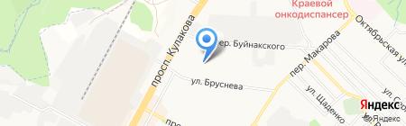 Юг Неба на карте Ставрополя
