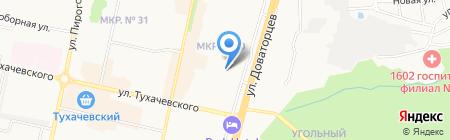 Чехарда на карте Ставрополя