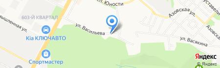 Пионер Первый на карте Ставрополя