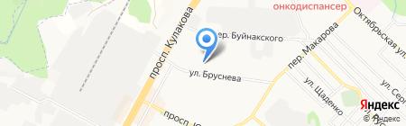 Спортивные товары на карте Ставрополя