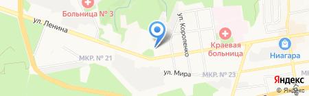 Региондорбезопасность на карте Ставрополя