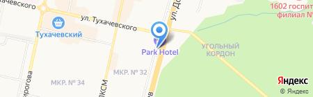 РЕСО-Лизинг на карте Ставрополя