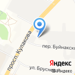 Эгида на карте Ставрополя
