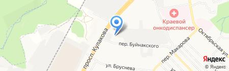 Квадро строй на карте Ставрополя