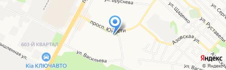 Центр детского творчества Промышленного района г. Ставрополя на карте Ставрополя