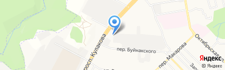 СКФА на карте Ставрополя