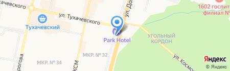 Оборонэлектронпроект на карте Ставрополя