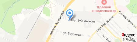 Водолей на карте Ставрополя
