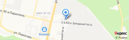 Анкас на карте Ставрополя