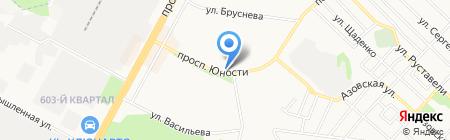 Киоск по продаже лотерейных билетов на карте Ставрополя